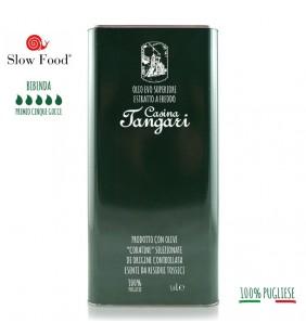 Olio extravergine di oliva 5lt latta