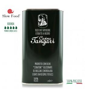 Olio extravergine di oliva 1lt latta